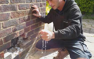 Cavity Wall Insulation Problems Water Damp Moisture