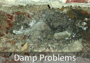 Damp Problems in Sussex and Hampshire