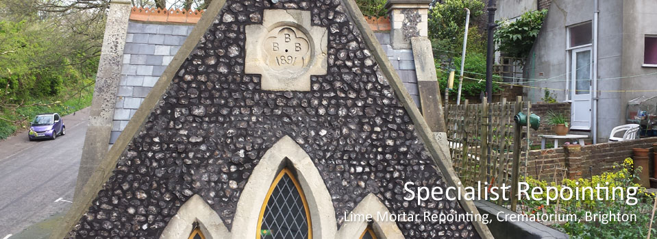 Lime Mortar Repointing Specialists Brighton