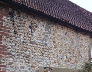 Listed building repointing