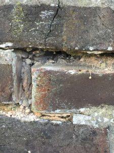Cavity Wall Tie Damage Crack