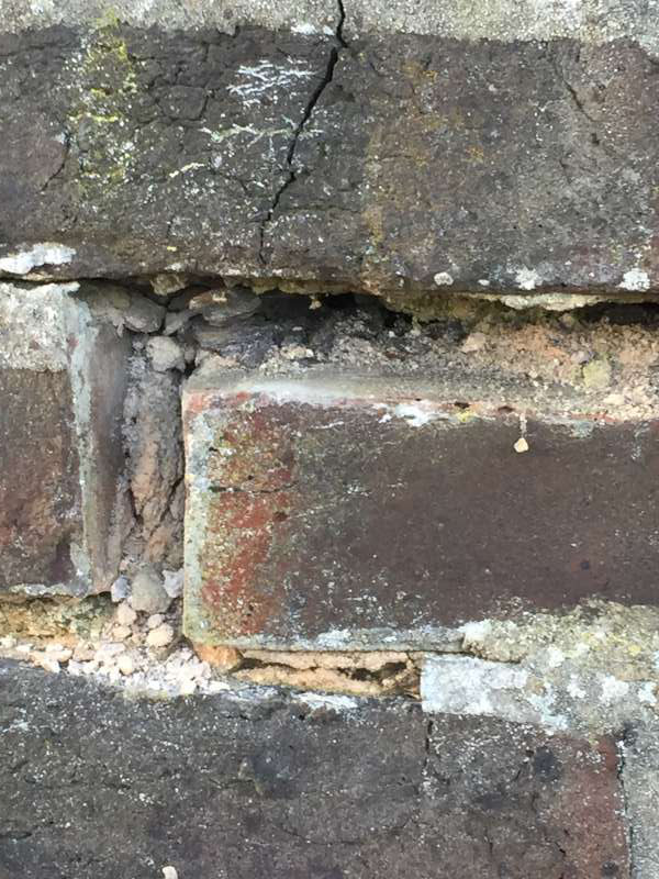 Cavity Wall Tie Damage