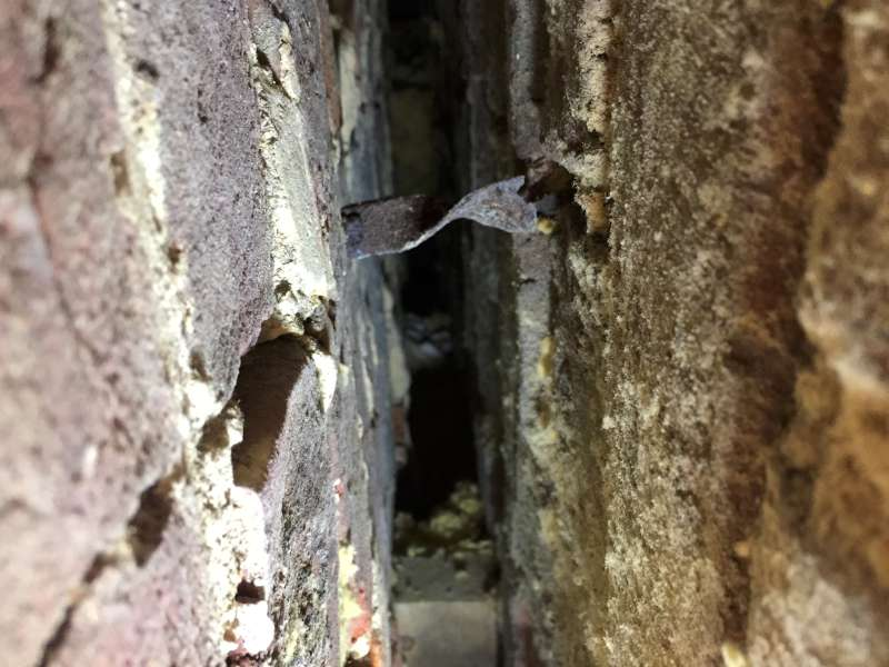 Cavity Wall Tie Failure